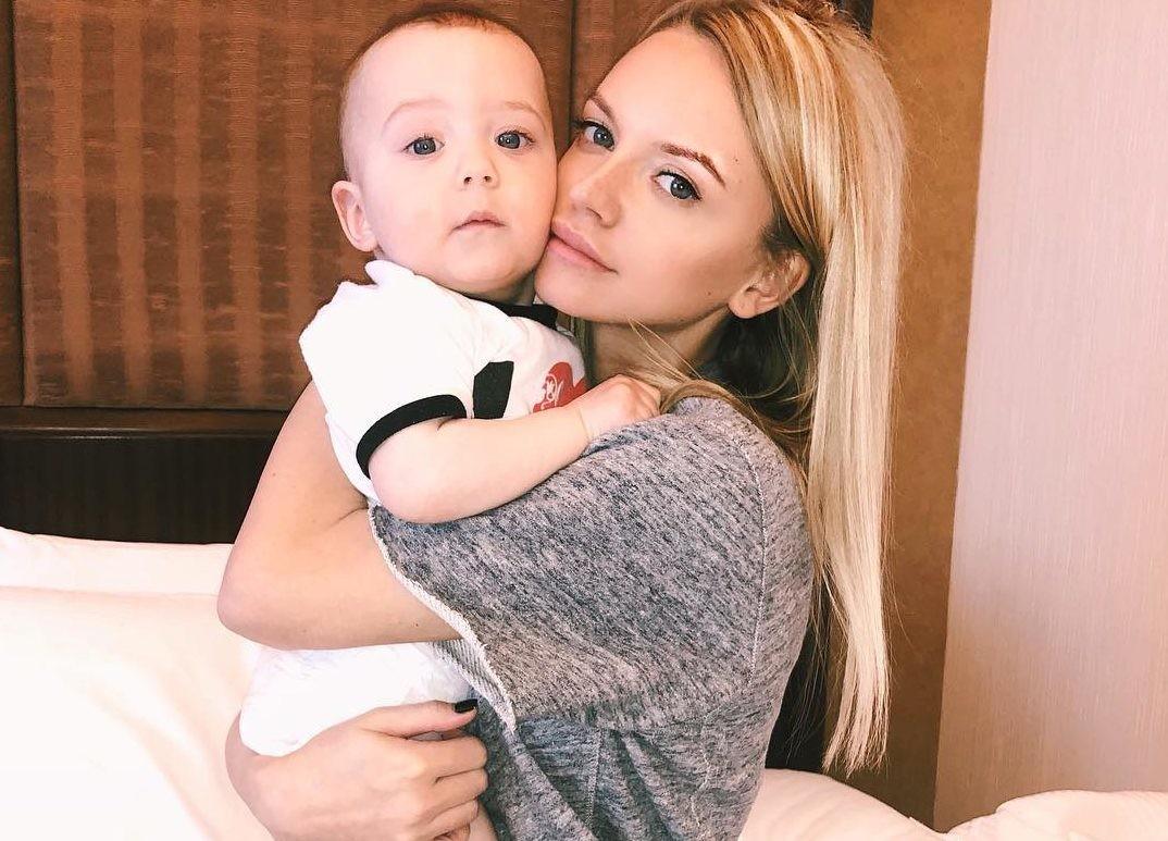 Милана Кержакова публично заявила о том, что муж украл у нее их сына