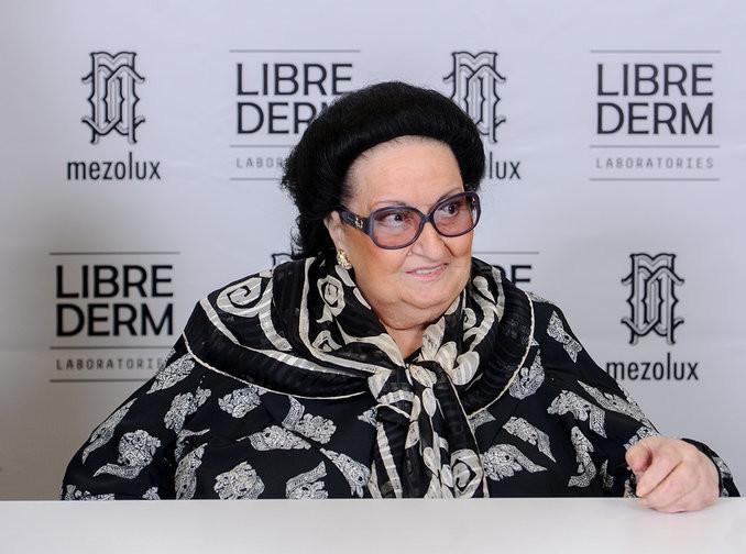 Mezolux Librederm представил столичной публике Монтсеррат Кабалье