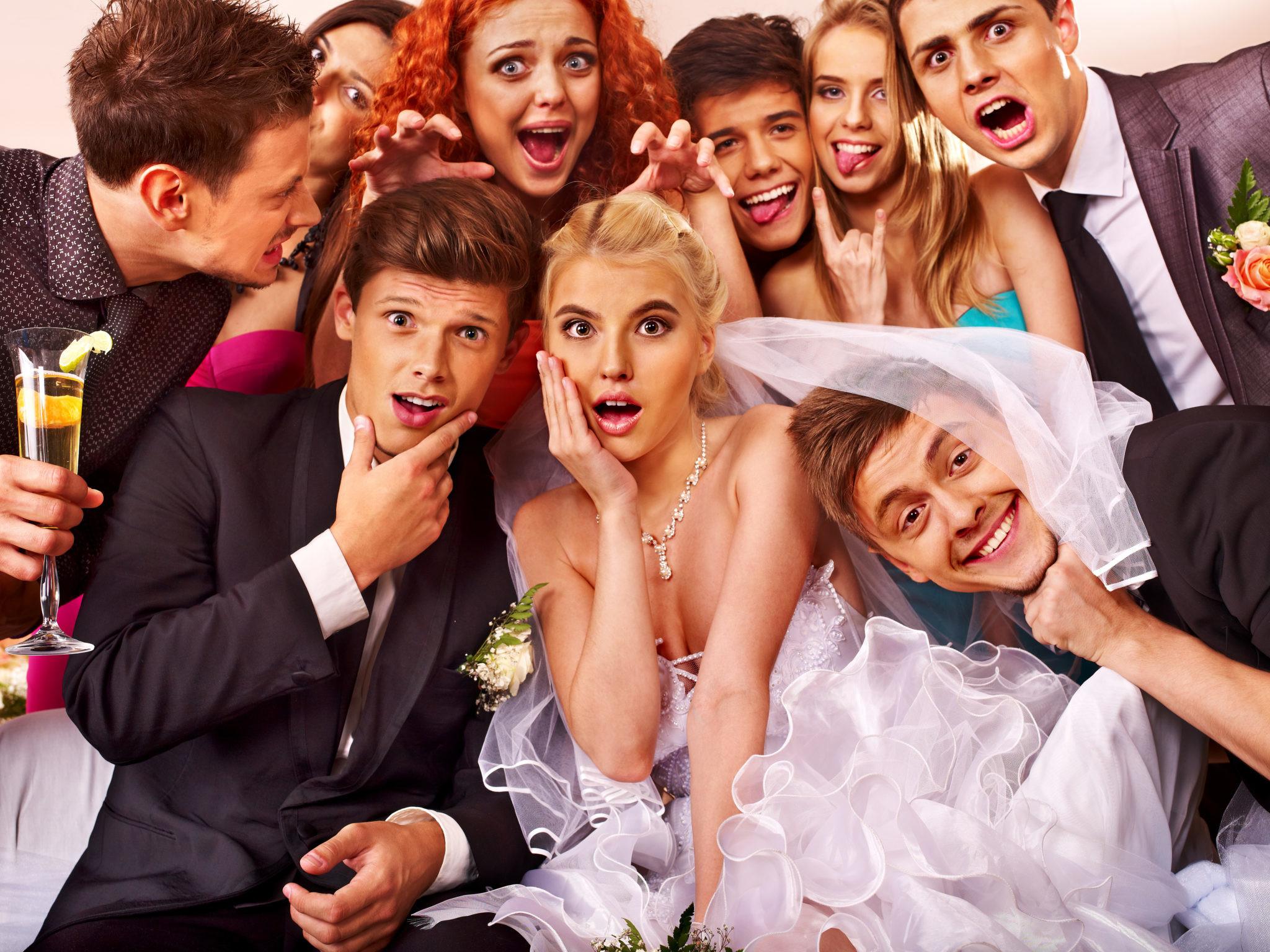 8 гостей на свадьбе, которые всех бесят