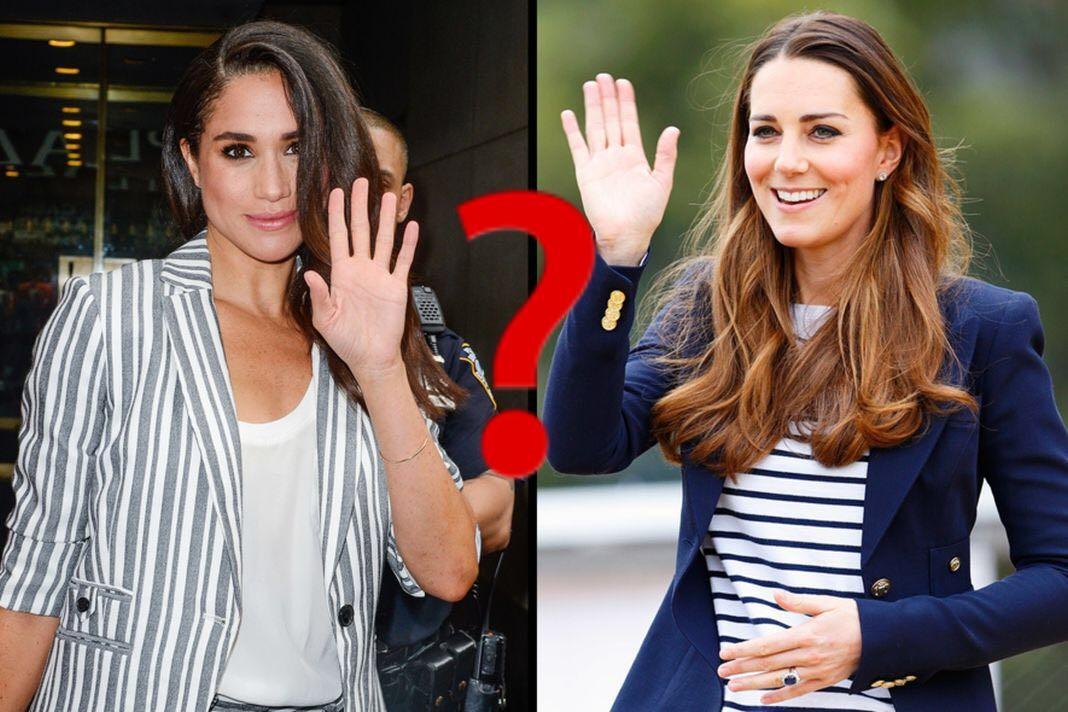 Тест: кто ты больше — Кейт Миддлтон или Меган Маркл?