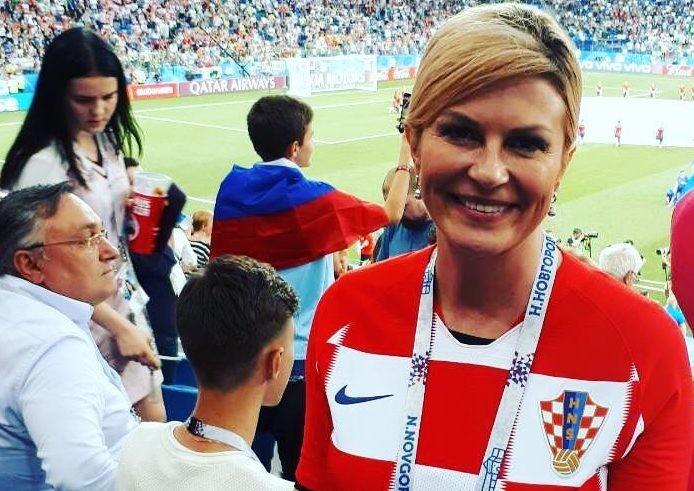 Президент Хорватии безоговорочно затмила Брижит Макрон на закрытии мундиаля