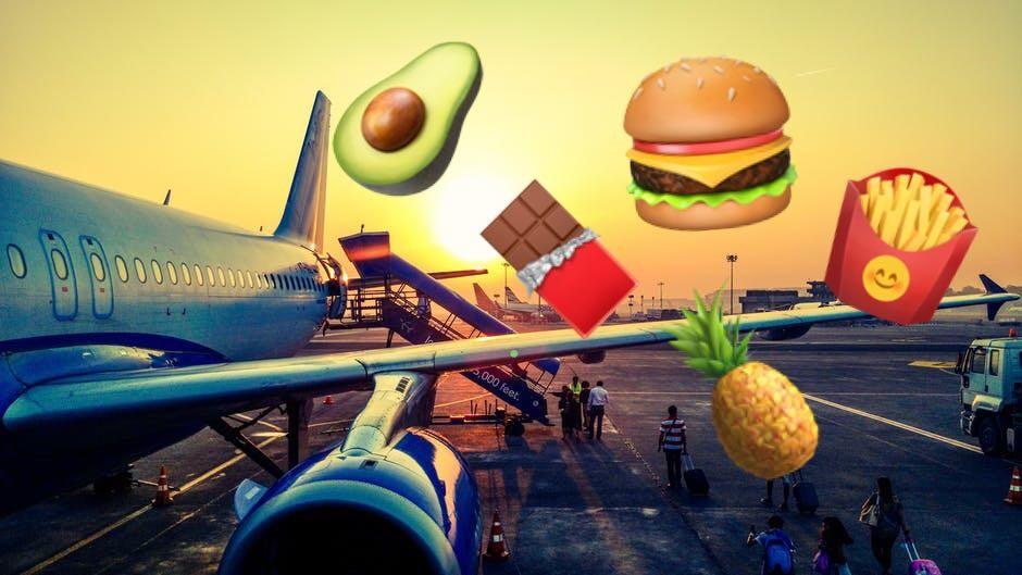 Чем питаться в самолете: советы вегана