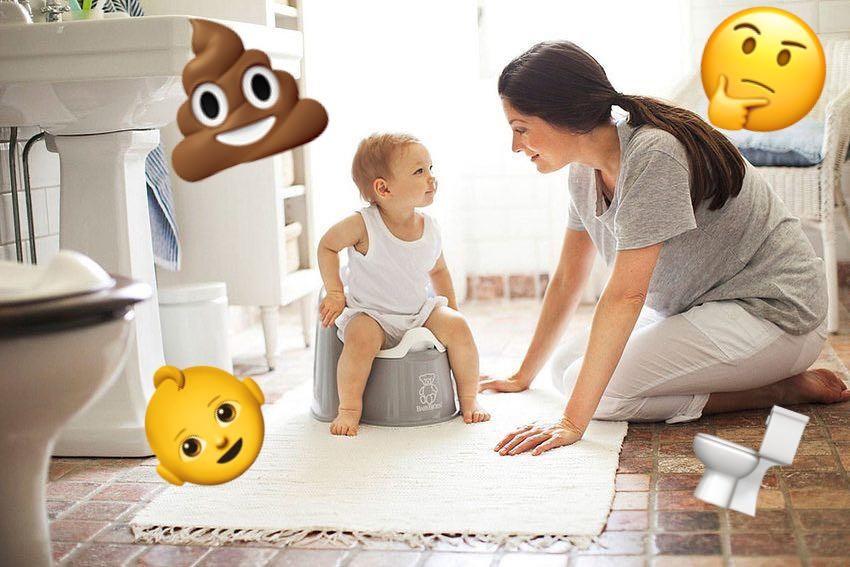 5 причин, почему бессмысленно и вредно приучать ребенка к горшку