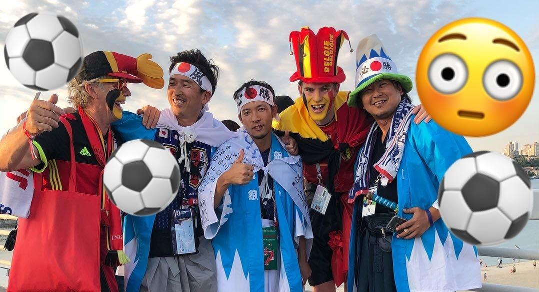 Португальцы в Саранске и японцы на Мамаевом кургане: топ-24 фото иностранцев на ЧМ-2018