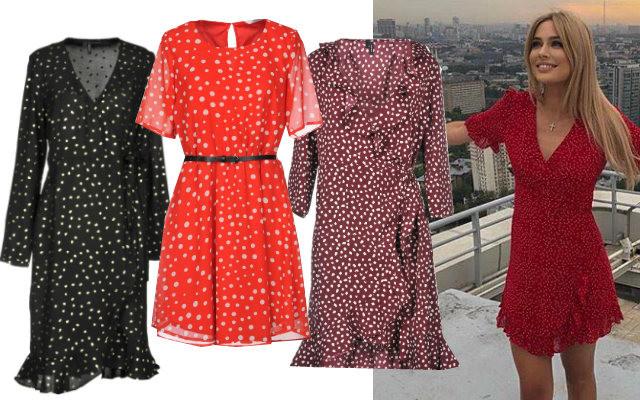5 шифоновых платьев до 3000 рублей, как у Натальи Рудовой