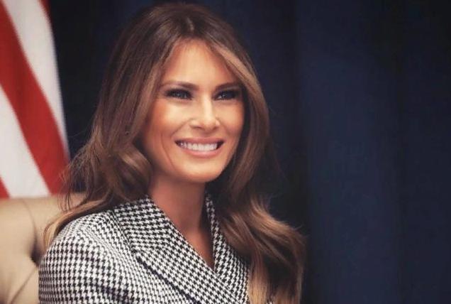 Меланья Трамп показала нарядный вариант платья с поясом для пикника