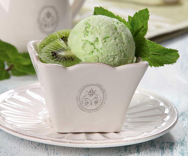 Мороженое с киви