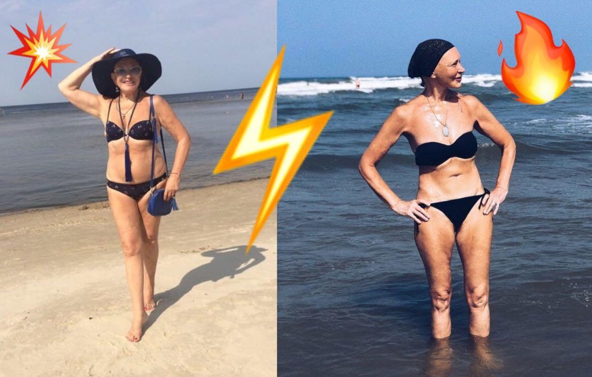 «Кто кого?»: Татьяна Васильева и Людмила Максакова показали, как нужно выглядеть в бикини в 70 лет