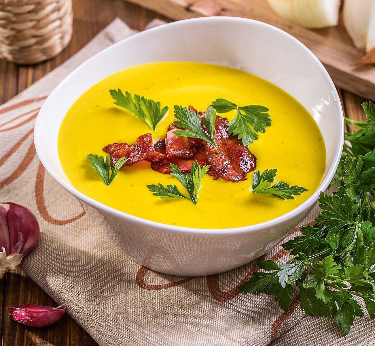Крем-суп из картофеля