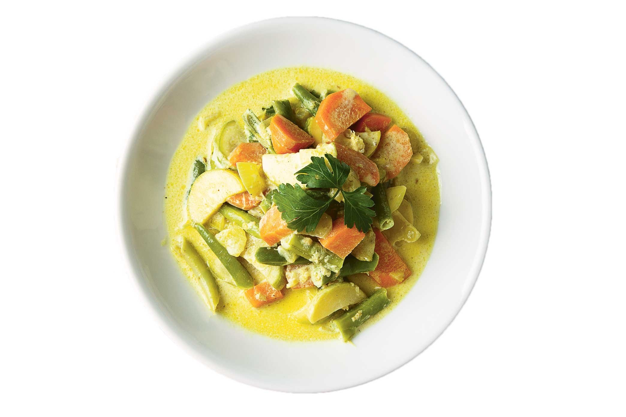 Овощи в соусе карри