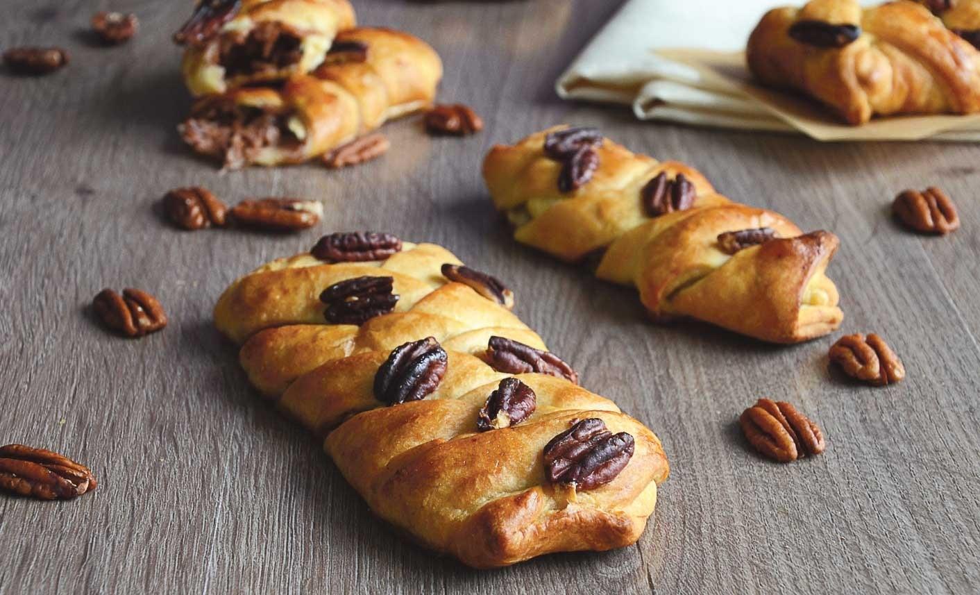 Слойки «Кленовый пекан»