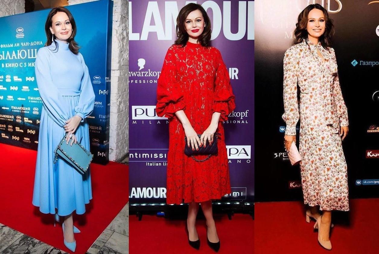 Ирина Безрукова показала, как носить вещи с мелким принтом женщинам после 50 лет