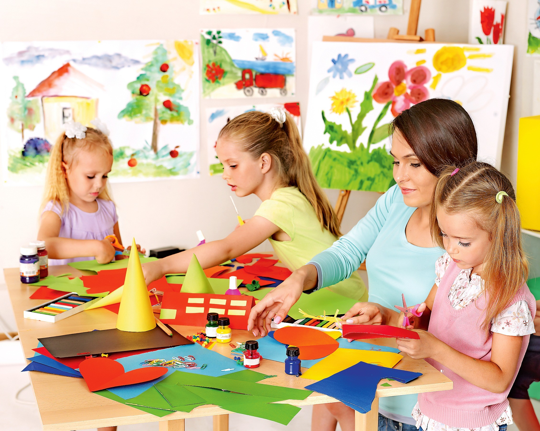 Как развить творческие способности у ребенка?