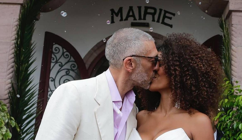 Моника, прости: первые фото со свадьбы Венсана Касселя и 21-летней модели
