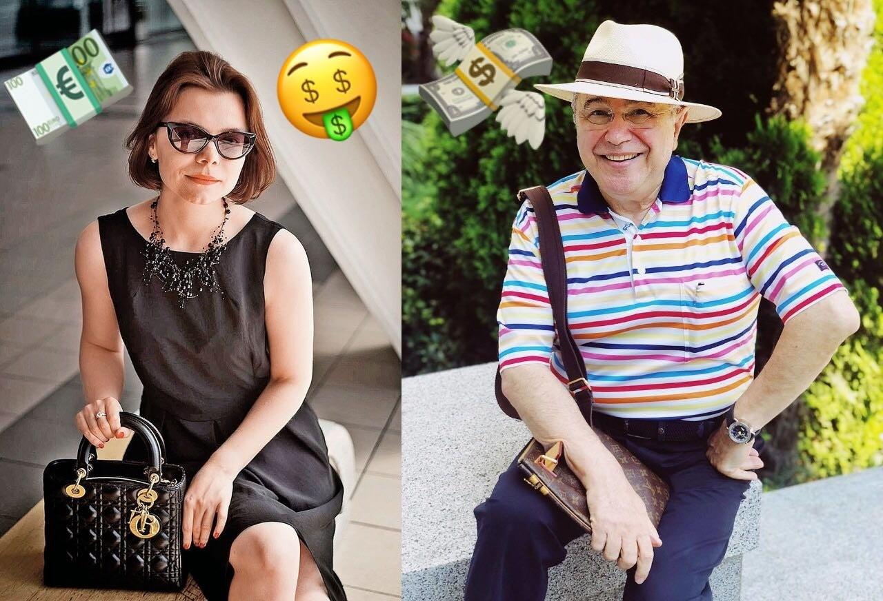 «Откуда деньги?»: молодая пассия Евгения Петросяна одевается на миллион
