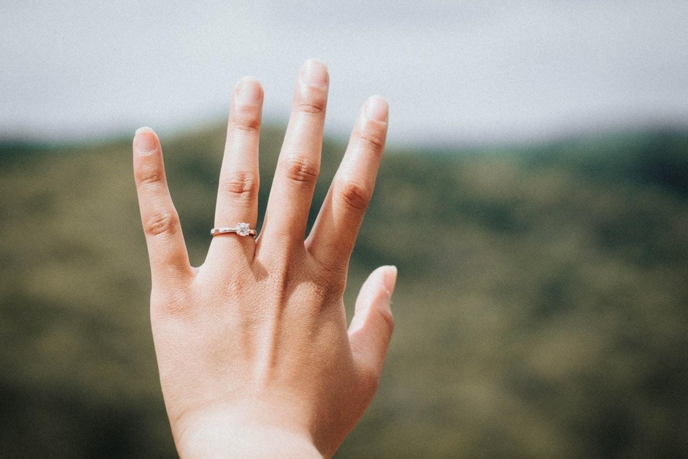 Как снять обручальное кольцо с отекшего пальца