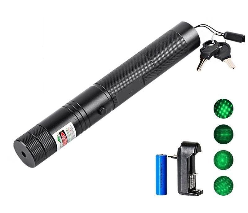 Лазерная указка «Зеленый луч», цена - ок. 1100 руб.