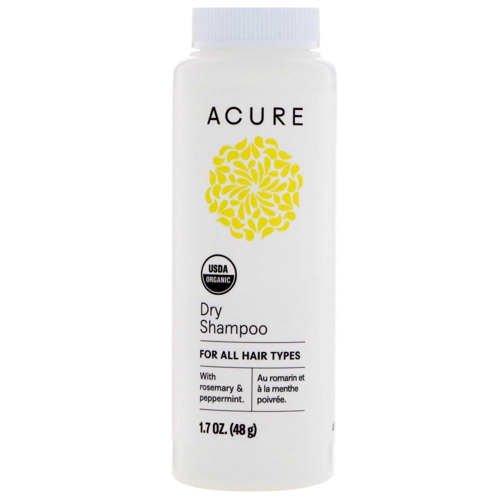 Органический сухой шампунь Acure