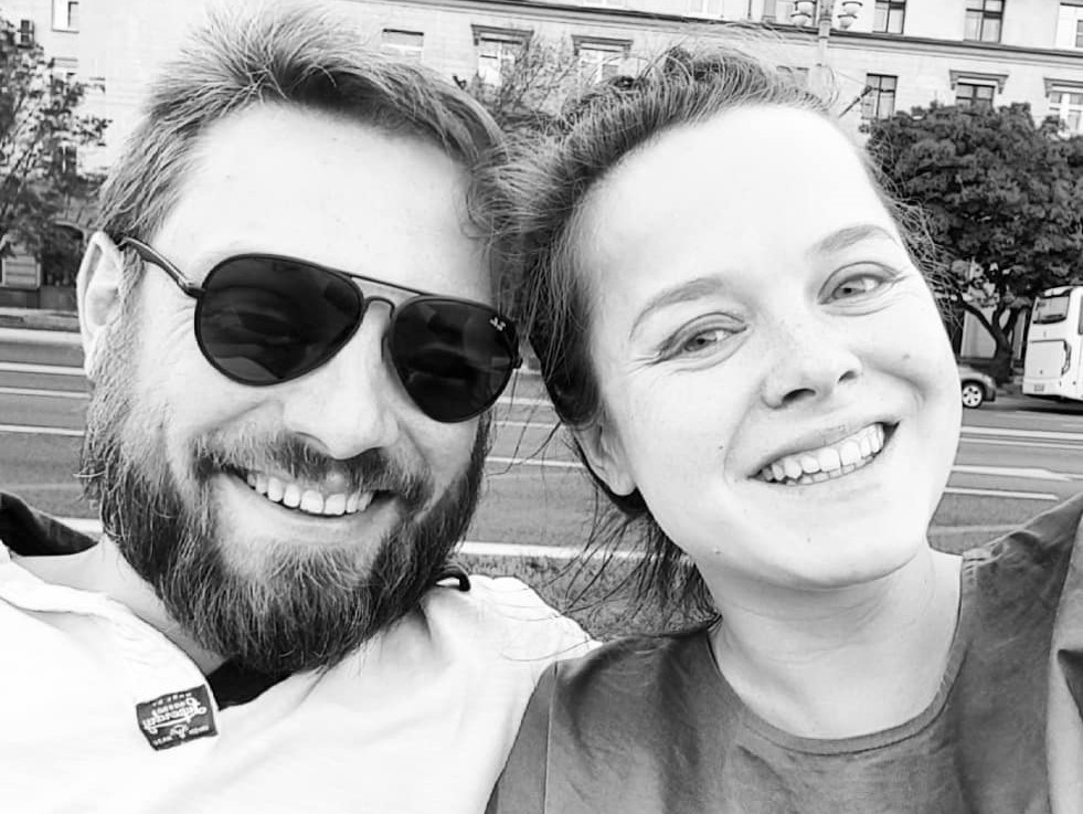 Наталия Медведева с мужем