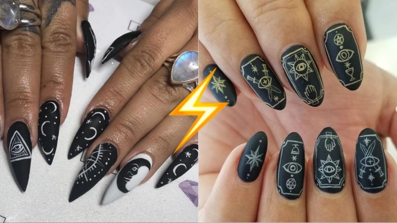 Карты Таро на ногтях: правила главного мистического тренда