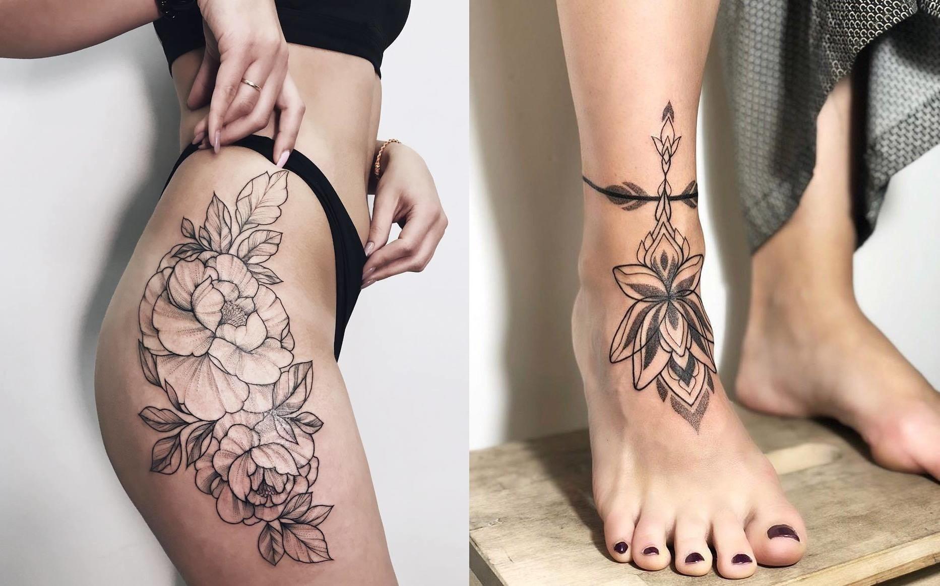 18 идей татуировок, которыми можно красиво закрыть шрамы
