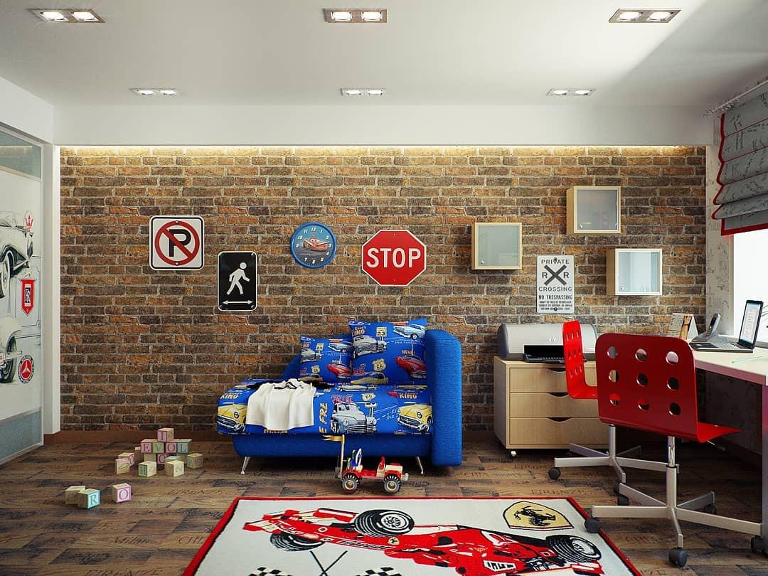 Комната для сына-сорванца: 5 правил оформления и классные интерьерные идеи
