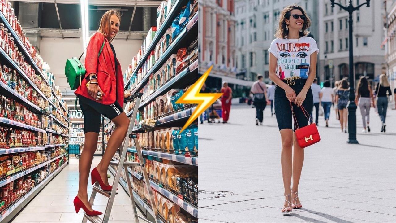 Они возвращаются: тренд на спортивные велосипедки захватил Instagram