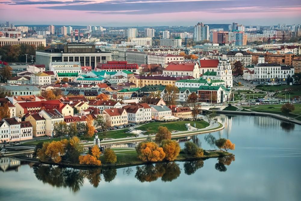 Осенью Минск полон особого очарования