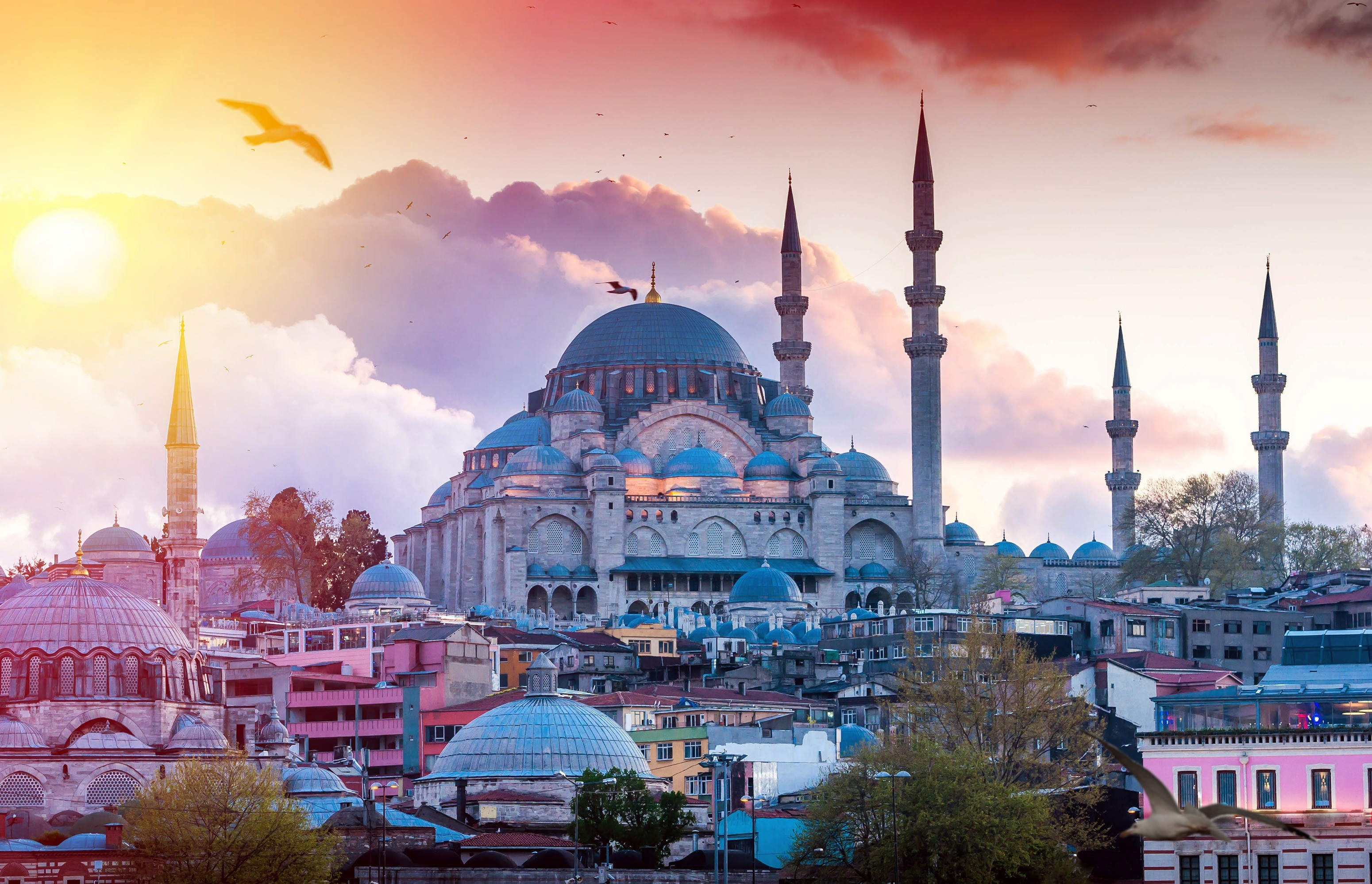 Стамбул прекрасен в любое время года