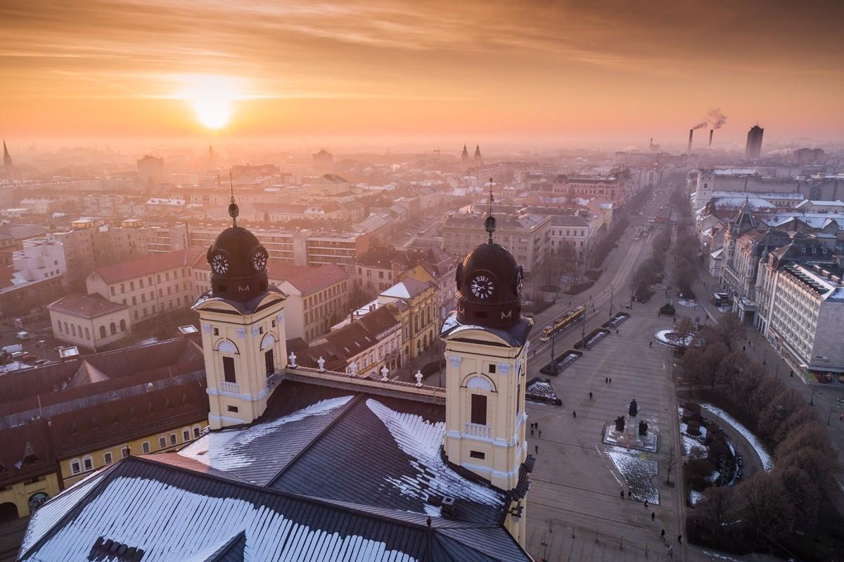 Дебрецен — второй по численности населения город Венгрии после столицы