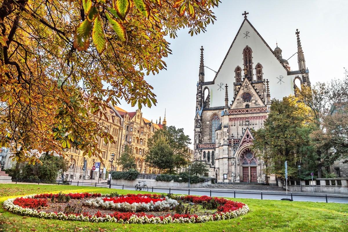 Гостеприимный Лейпциг часто называют «городом ярмарок»