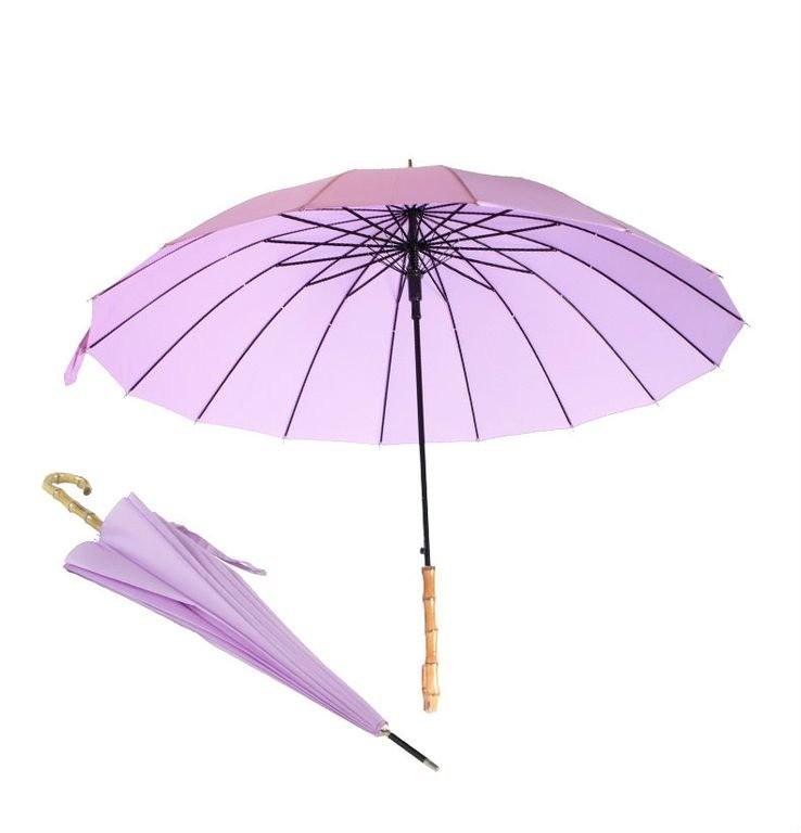 Зонт с необычной ручкой