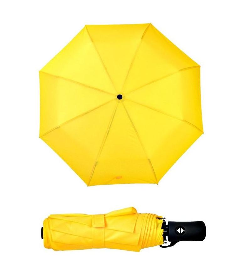 Однотонный яркий зонт
