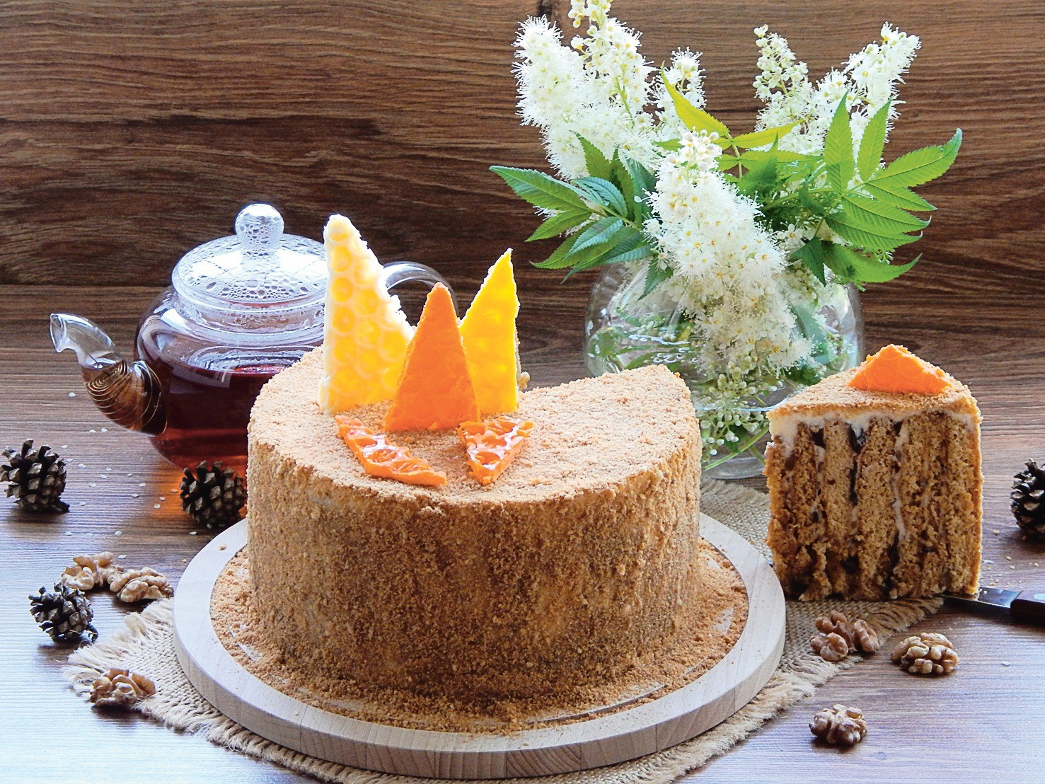 Медовый пирог