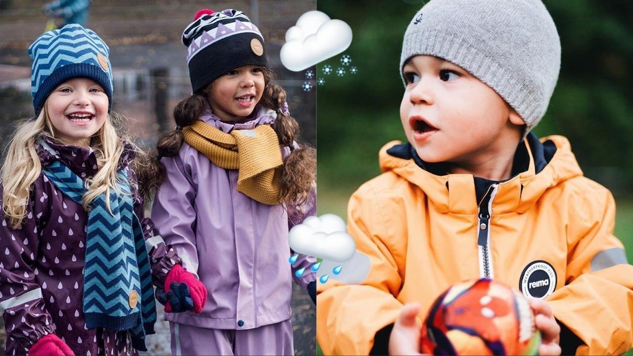Как одеть ребенка в холодную погоду: 5 схем на любую температуру. Сохрани в закладки!