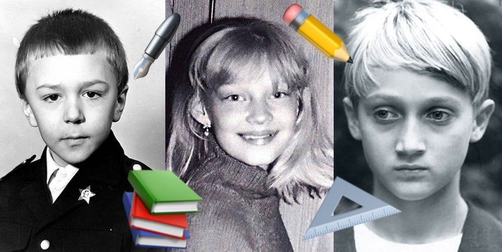 Звезды на школьном фото: угадаешь?