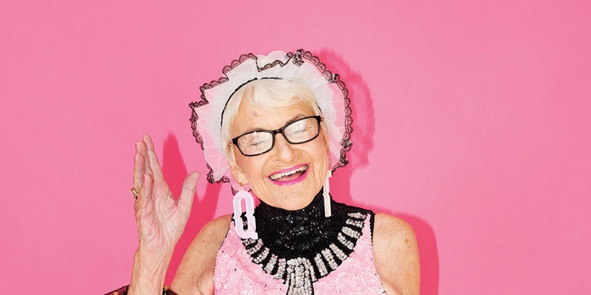 Баддивинкл или бабушка-радуга: 90-летняя старушка завоевала в Instagram 4 миллиона подписчиков
