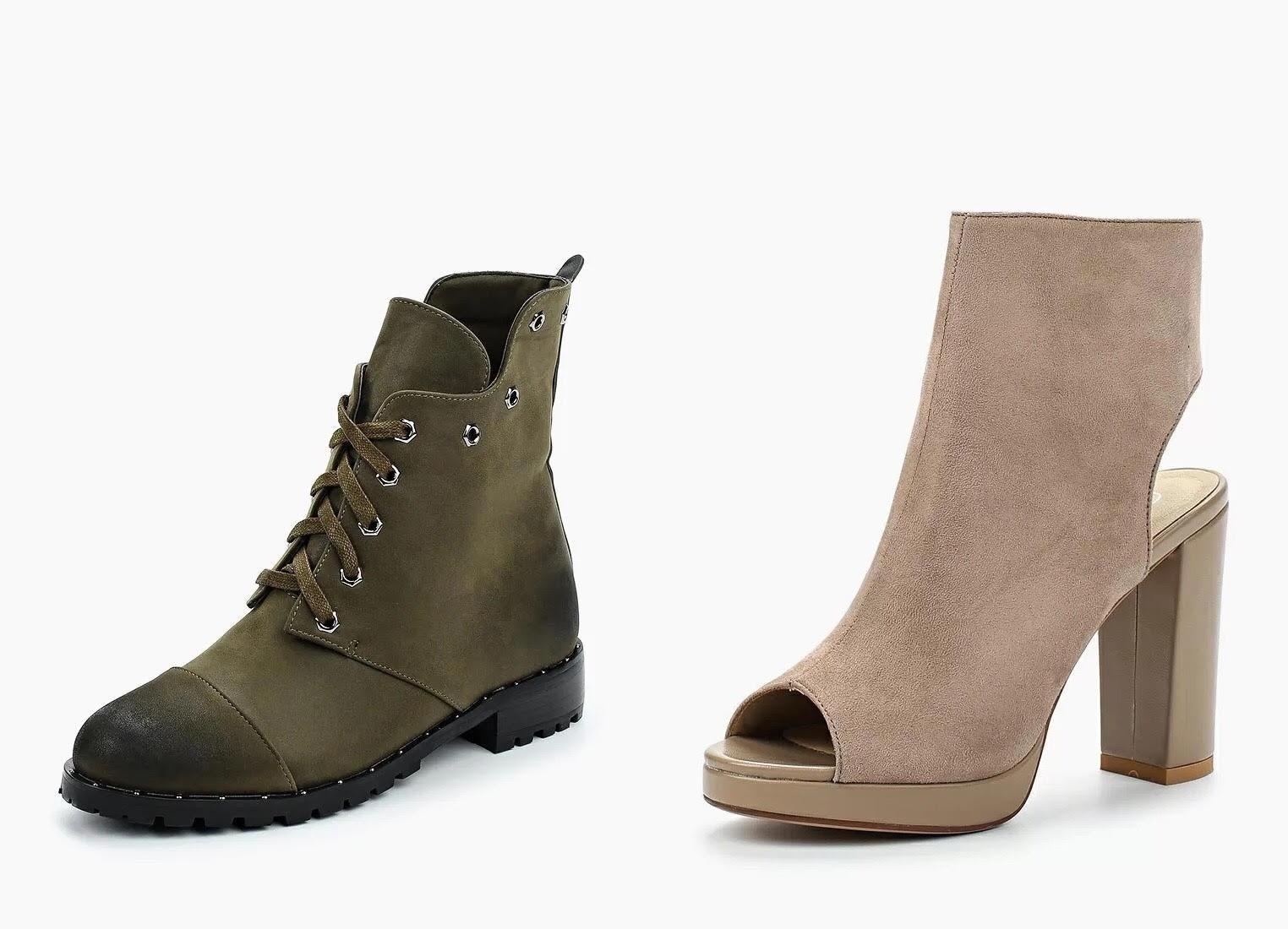 Топ-7 пар осенней обуви до 5 000 рублей, в которых ноги визуально кажутся худее