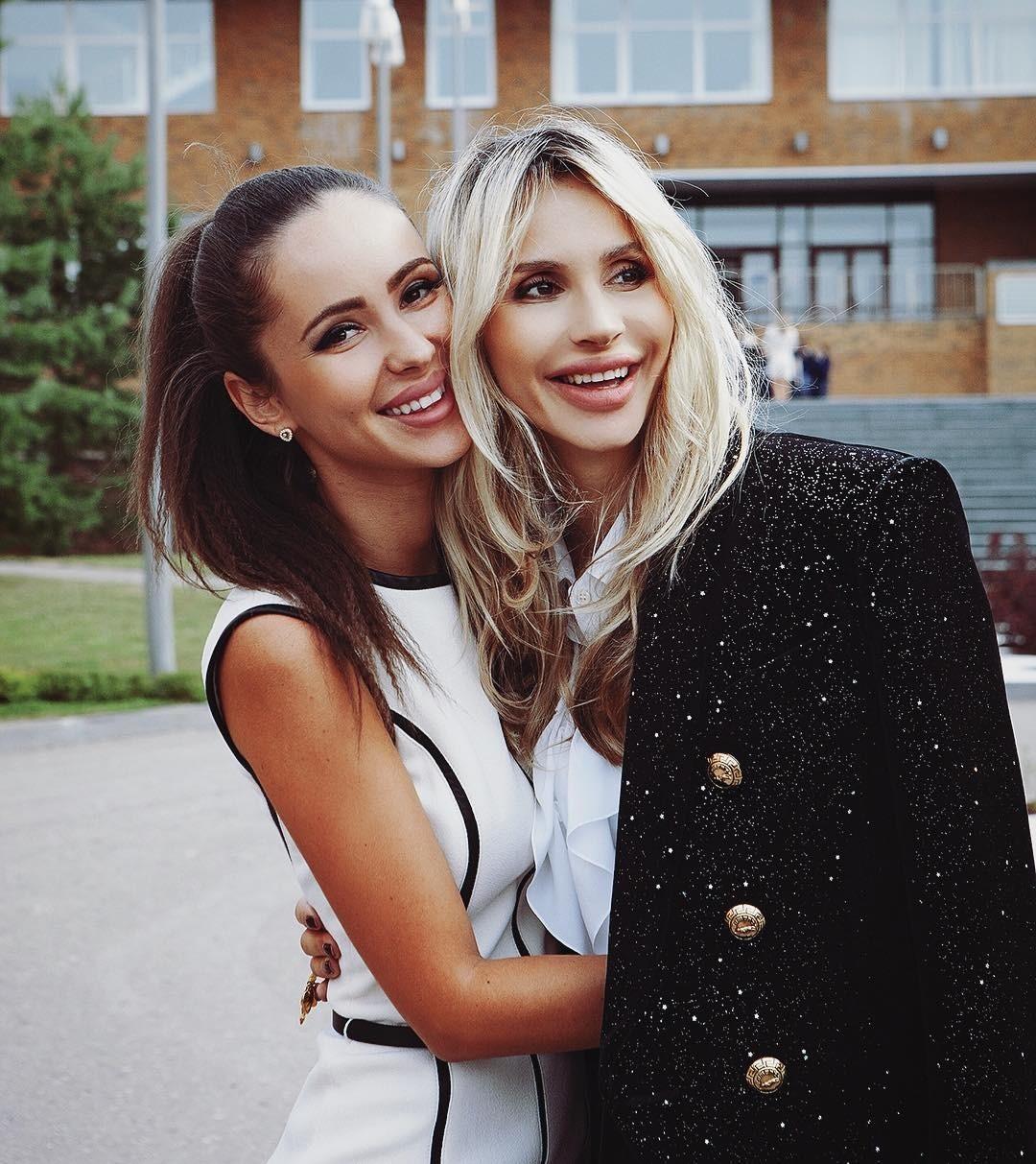 Светлана Лобода с сестрой Ксен&...