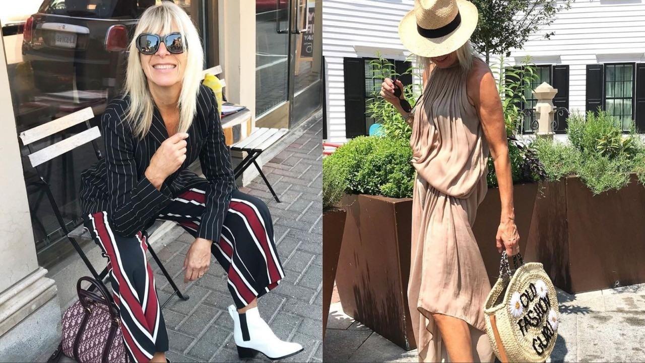 «Копия Брижит Макрон»: 67-летняя модница набирает популярность в Instagram