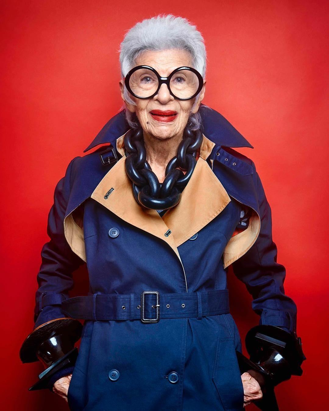 Неохота наряжаться? Вдохновись! 96-летняя французская бабушка стала иконой стиля в Instagram