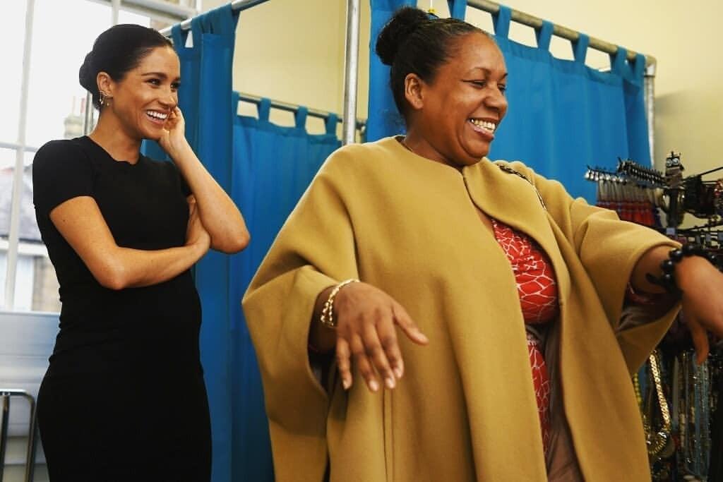 Меган Маркл помогла домохозяйкам подобрать наряды для собеседований