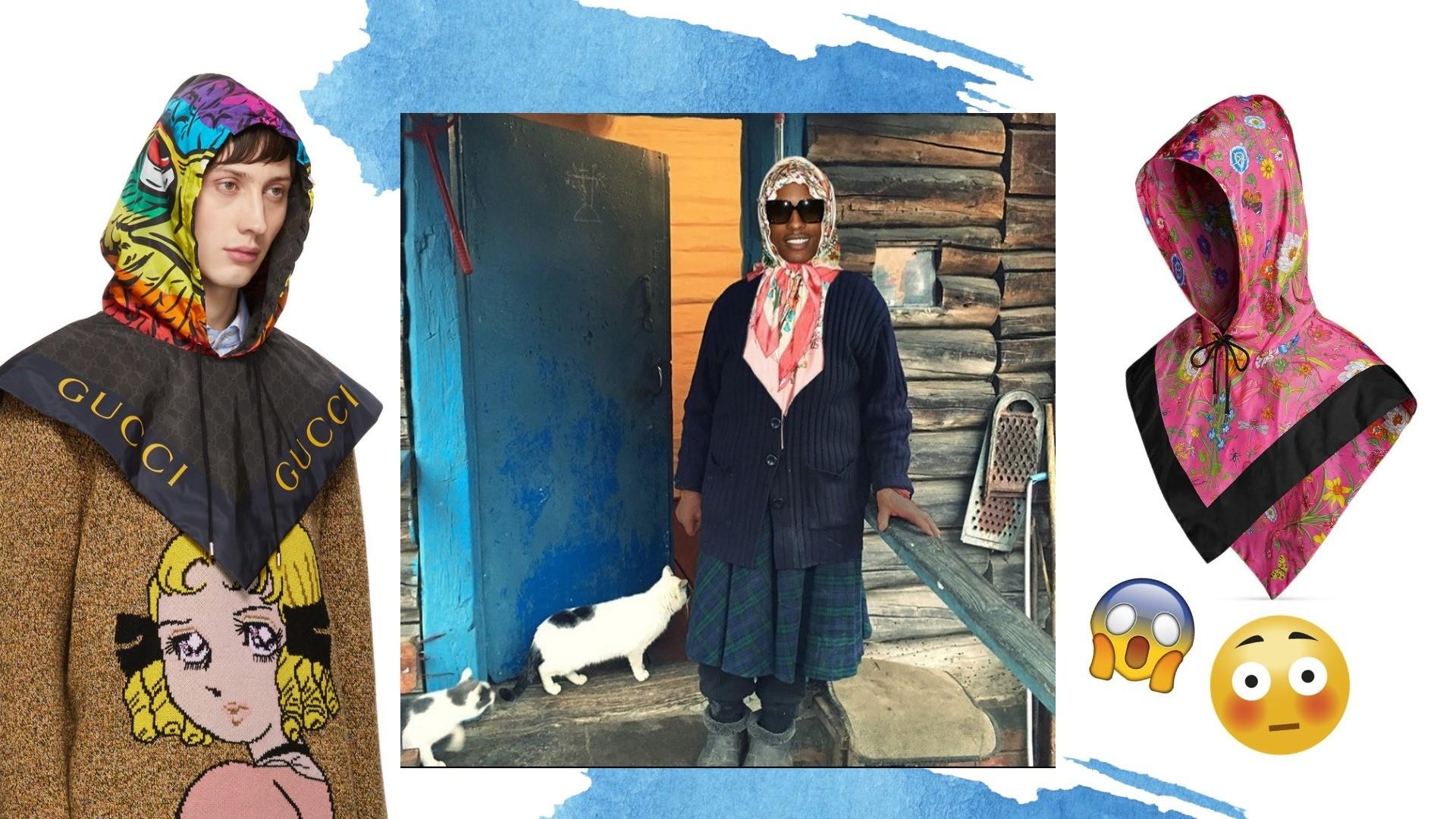 Бабушка-стайл: модные мужчины повязывают на голову косынки