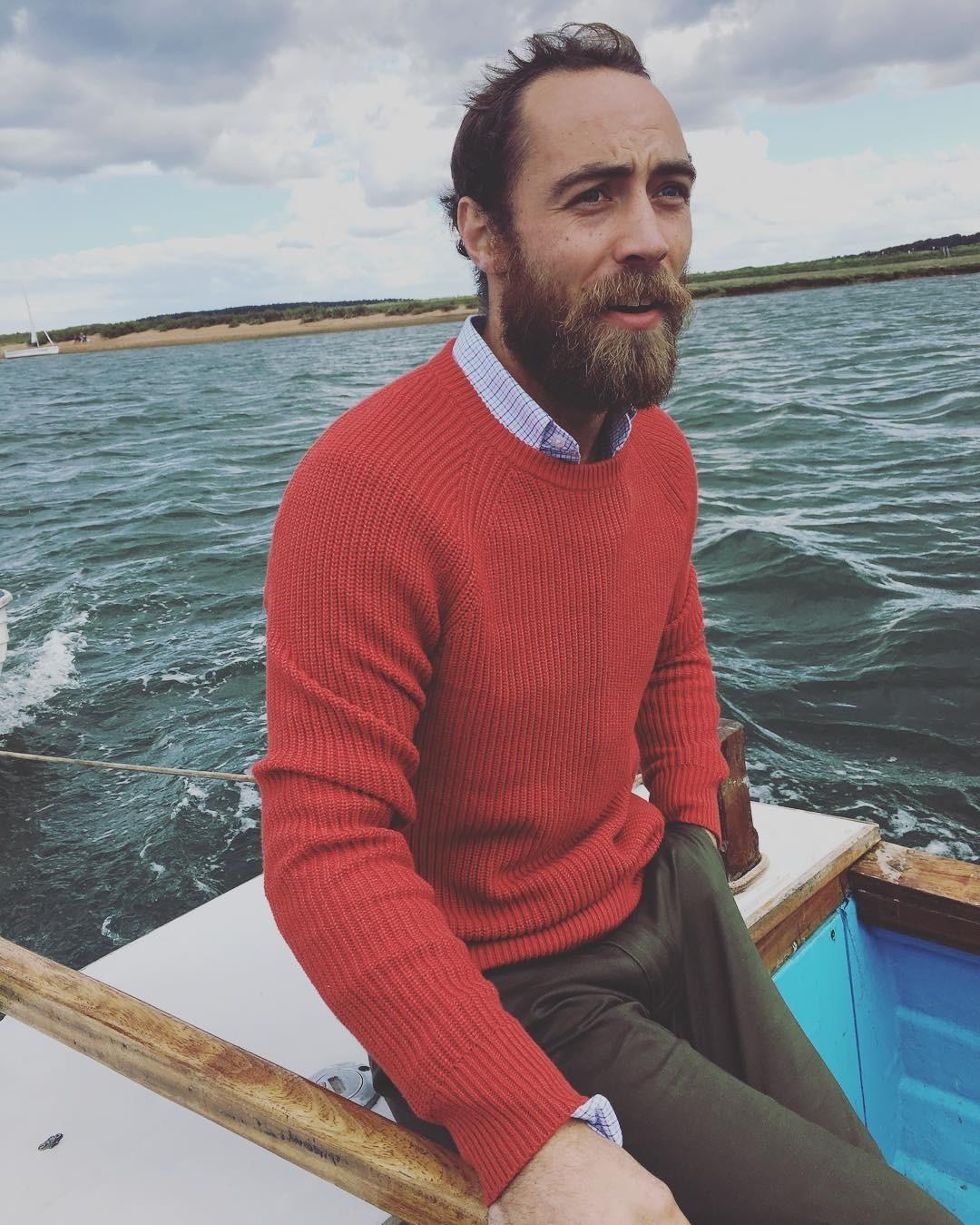 Брат Кейт Миддлтон открыл Instagram и показал, как живет