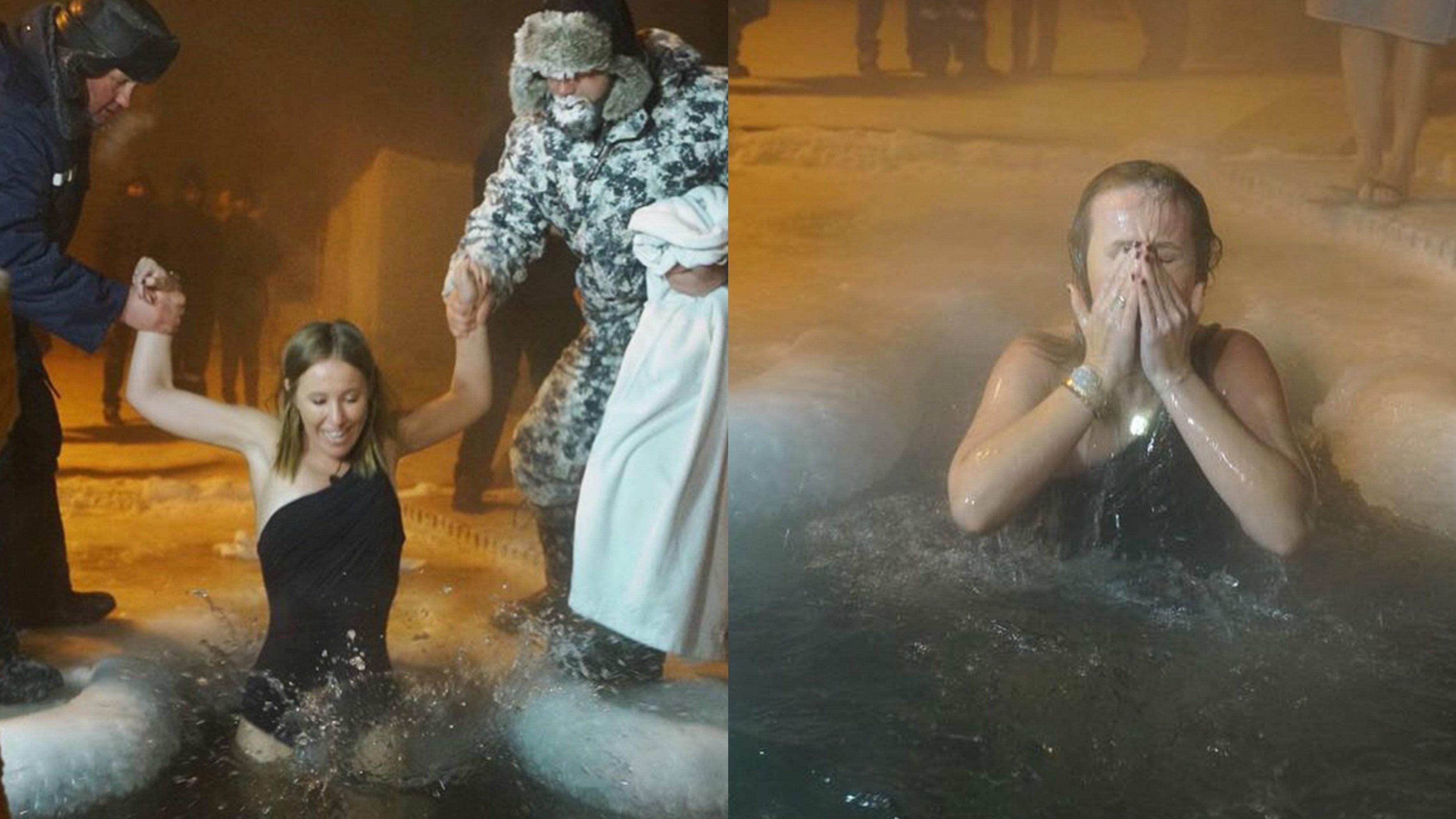 Крещенское купание: как правильно окунаться в ледяную воду