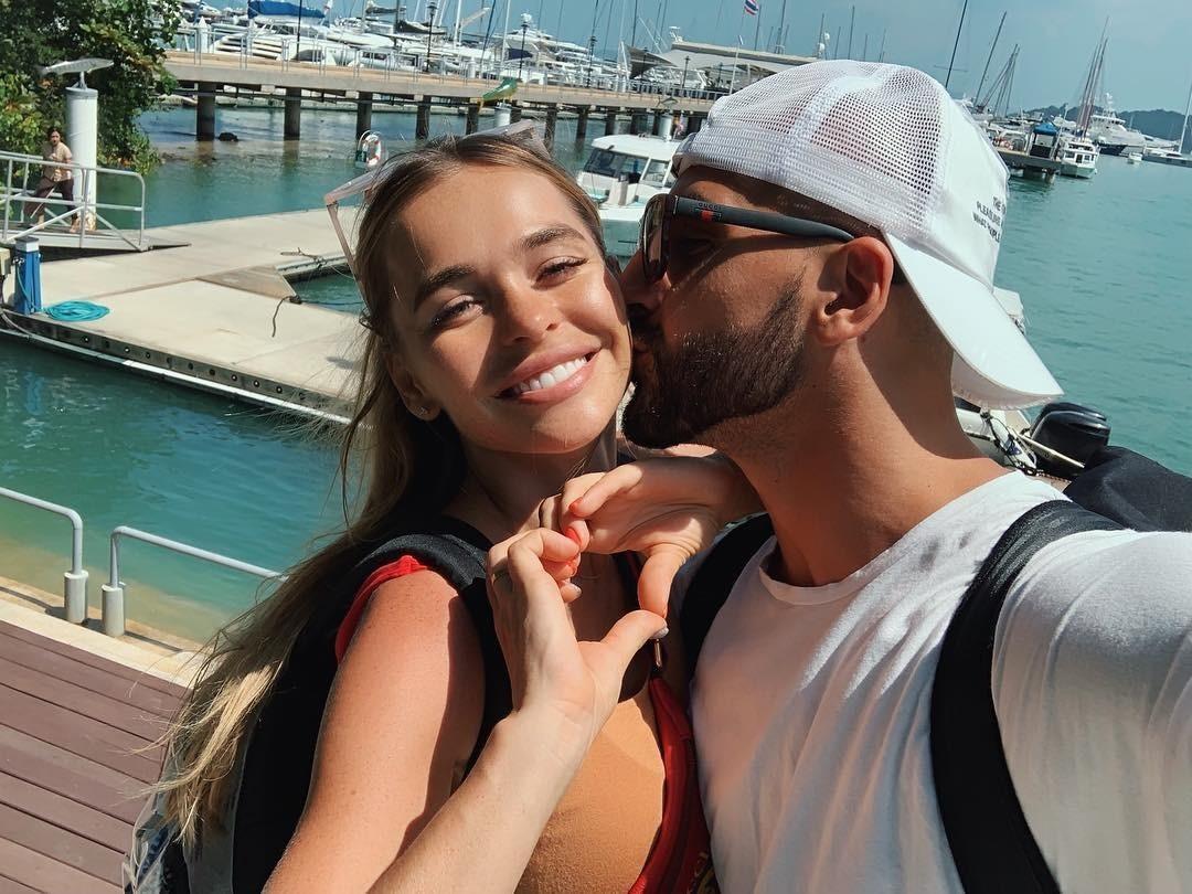 Анна Хилькевич с мужем устроили себе «медовый месяц»