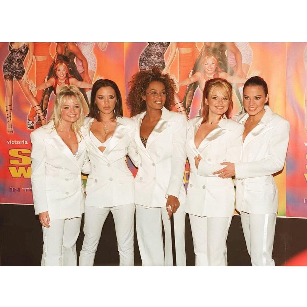 Группа «Spice Girls» в1998 году.
