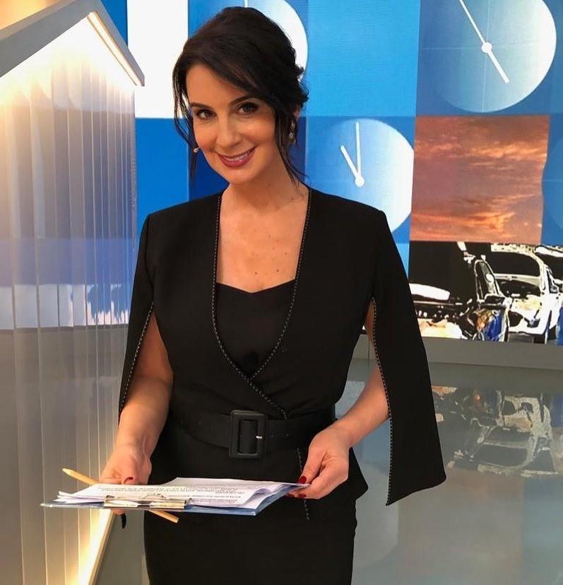 Телеведущая Екатерина Стриженова.