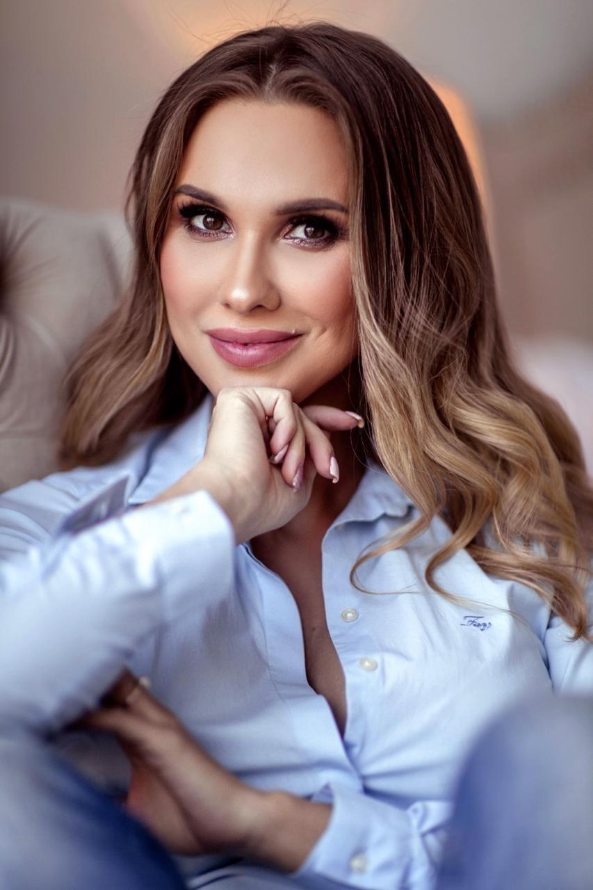 Анастасия Гончарова, тренер женской сборной России пофитнесу