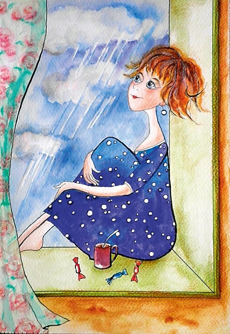 ...Ксения Юррюти-Богомолова иИв Юррюти более 10 лет живут впредместье Парижа. Девушка увлекается живописью, участвует ввыставках, сочиняет стихи, написала автобиографическую повесть. Т...